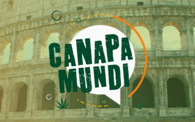 Targul international  Canapa Mundi la Roma